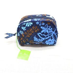 Vera Bradley Java Floral Cosmetic Bag